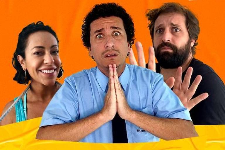 Série Cinco Vezes Comédia, da Amazon Prime Video