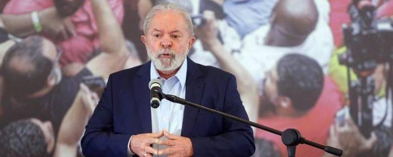 O ex-presidente Lula fez um discurso após decisão de Fachin