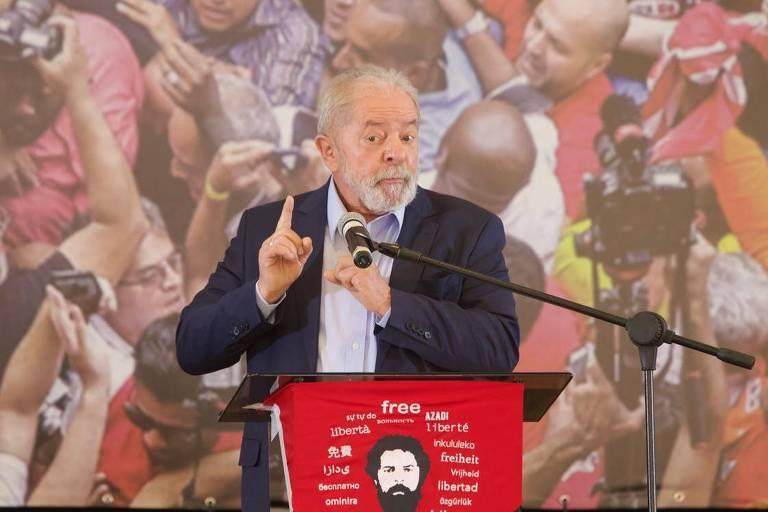 Brasil, é Lula de novo?