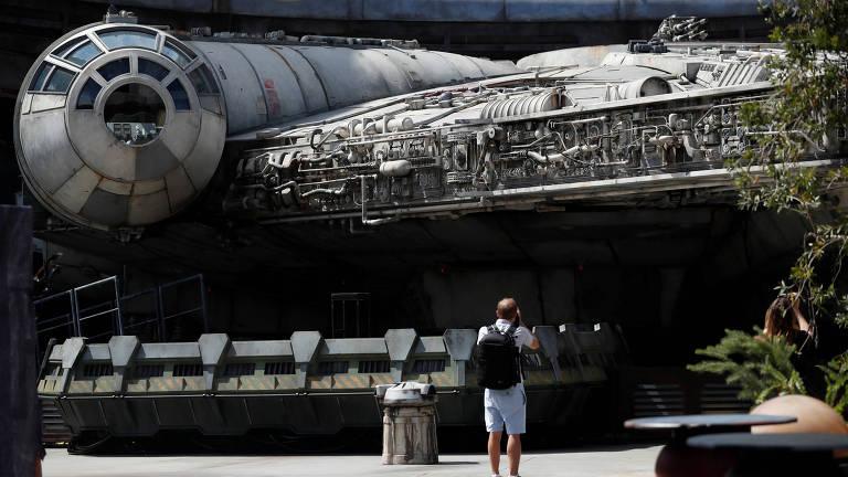 """Espaçonave de """"Star Wars"""""""