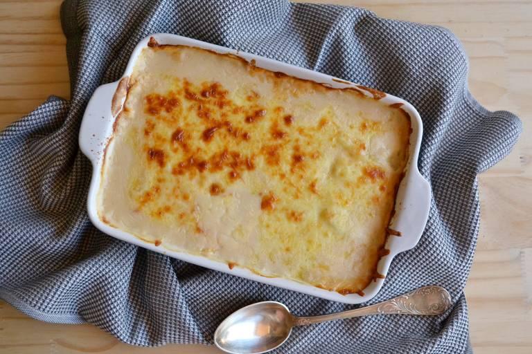 Aprenda a preparar  batata gratinada