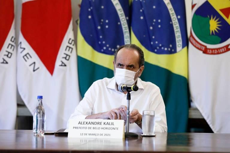 Alexandre Kalil (PSD) anuncia medidas em BH