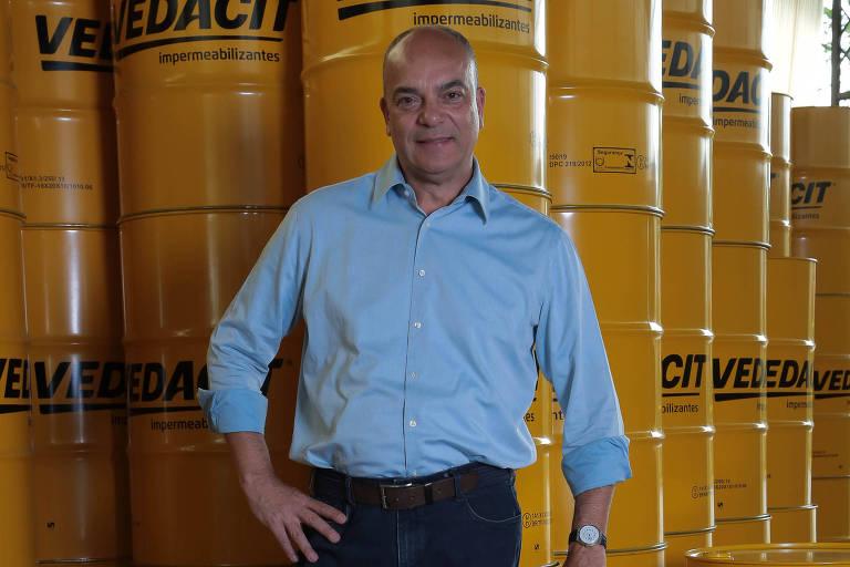Marcos Bicudo é o CEO da Vedacit