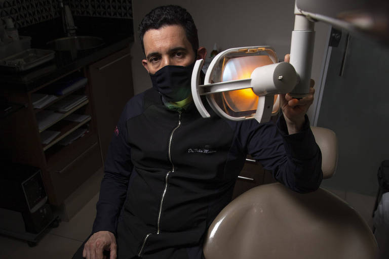 Fábio Masson, do Centro Odontológico Sorriso.com,  em Santo André (ABC)