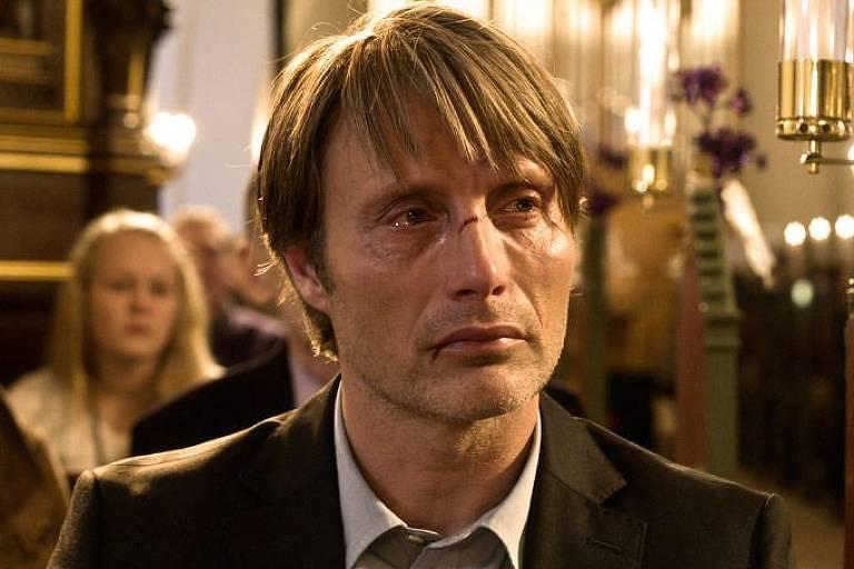 """Mads Mikkelsen em cena do filme dinamarquês """"A Caça"""", de Thomas Vintemberg"""