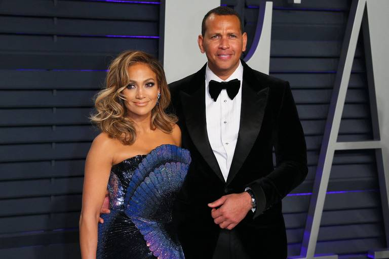 Ex-casal Jennifer Lopez e Alex Rodriguez