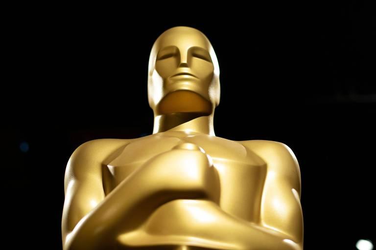 Estátua em formato do troféu do Oscar, em foto de 2019