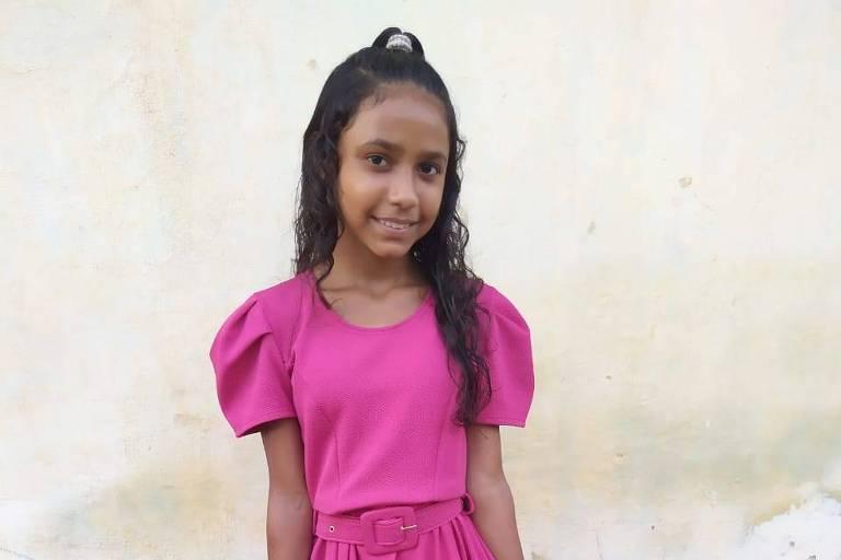 Maria Érica Rocha Simão, 12, que conseguiu pressionar a prefeitura do município de Coelho Neto, no interior do Maranhão, para que construísse uma brinquedoteca na região