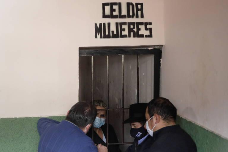 Jeanine Añez é presa na Bolívia