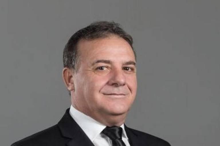O deputado estadual por Mato Grosso Silvio Antônio Fávero (PSL), morto por complicações da Covid-19