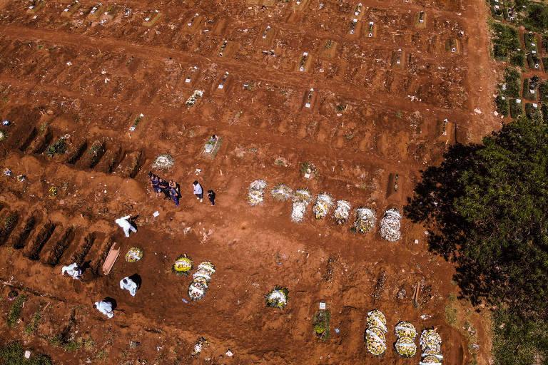 Covid leva hospitais ao colapso no Brasil