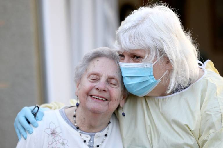 Cenas da pandemia na Escócia