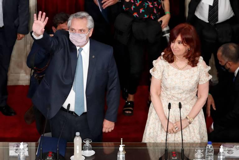 Reforma do Judiciário na Argentina emperra e opõe Fernández a Cristina