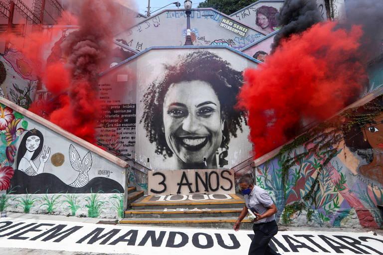 Morte de Marielle Franco é lembrada no Brasil e pelo mundo