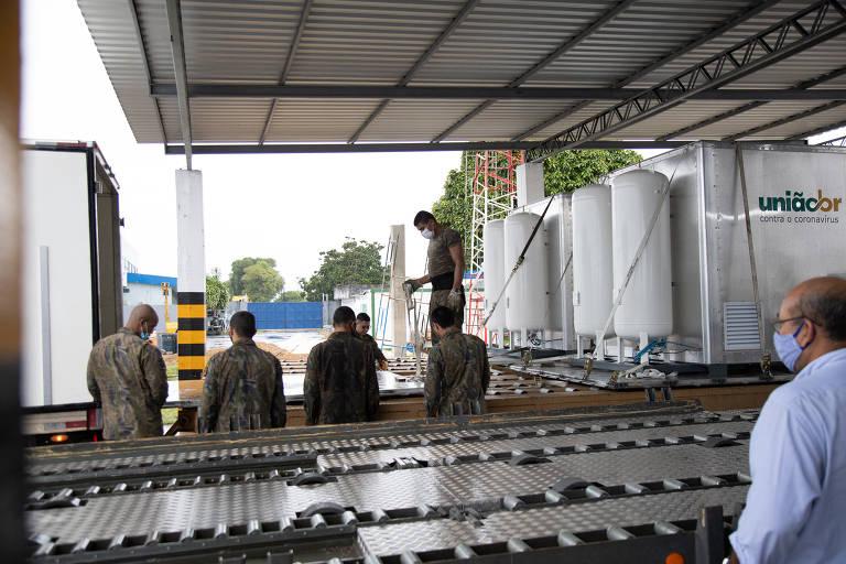 UniãoBR articula doação de seis usinas de oxigênio para suprir 90 leitos de UTI no Amazonas