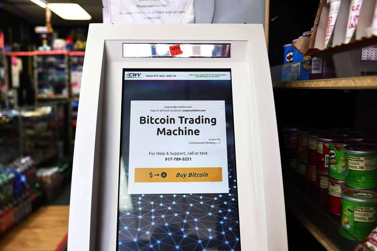 Caixas eletrônicos de bitcoin começam a se espalhar pelos EUA