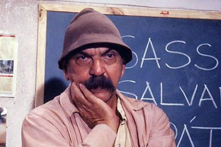 O personagem Sassá Mutema, interpretado por Lima Duarte