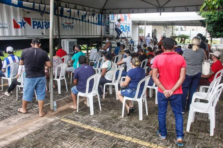 Com hospitais particulares em colapso e sistema público pressionado, Belém inicia lockdown