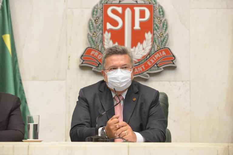 Novo presidente da Assembleia de SP diz que pediu a deputada apalpada para 'relevar' o episódio