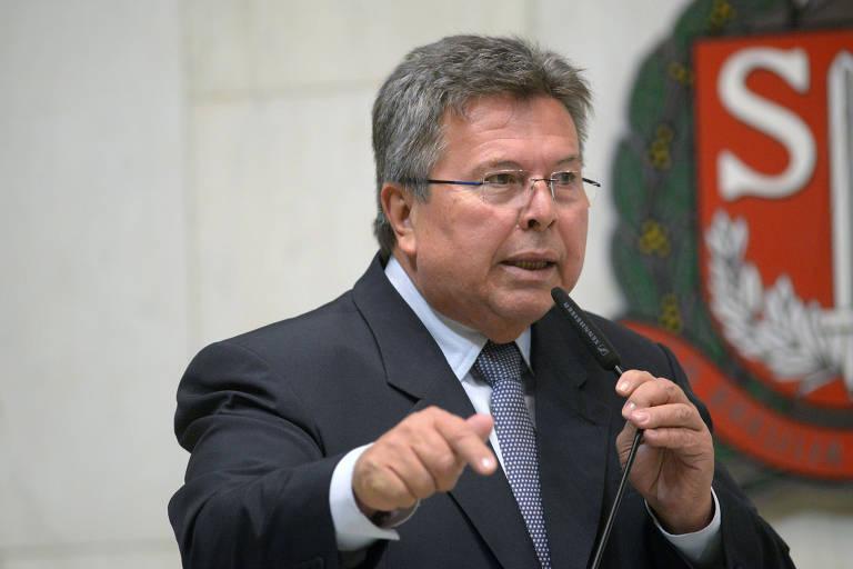 Este é Carlão Pignatari (PSDB), presidente da Assembleia Legislativa de SP