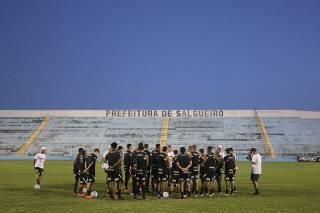 Imagens do treino realizado no dia 16 de março de 2021, na cidade de Salgueiro/PE
