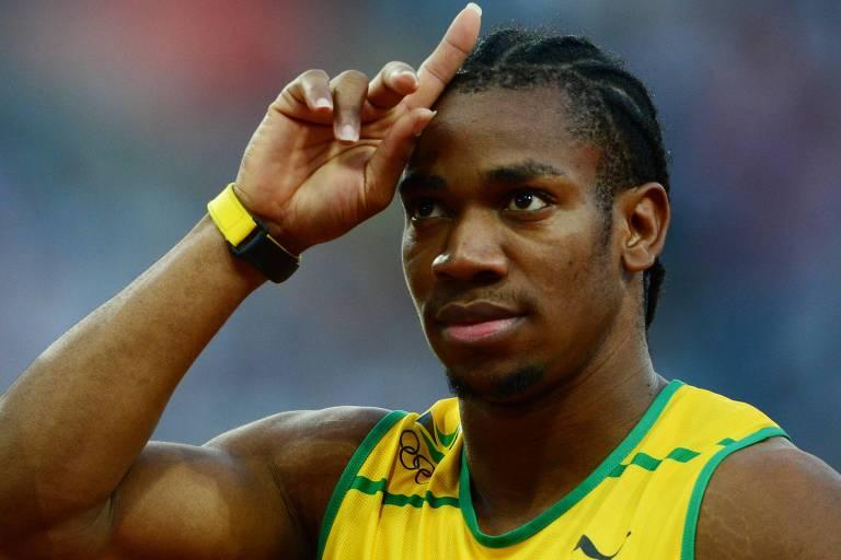 O velocista jamaicano Yohan Blake é um dos atletas que já deixaram claro que não tomarão a vacina contra a Covid-19