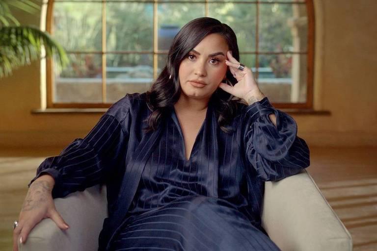 """Demi Lovato em cena da série documental """"Demi Lovato: Dancing with the Devil"""""""