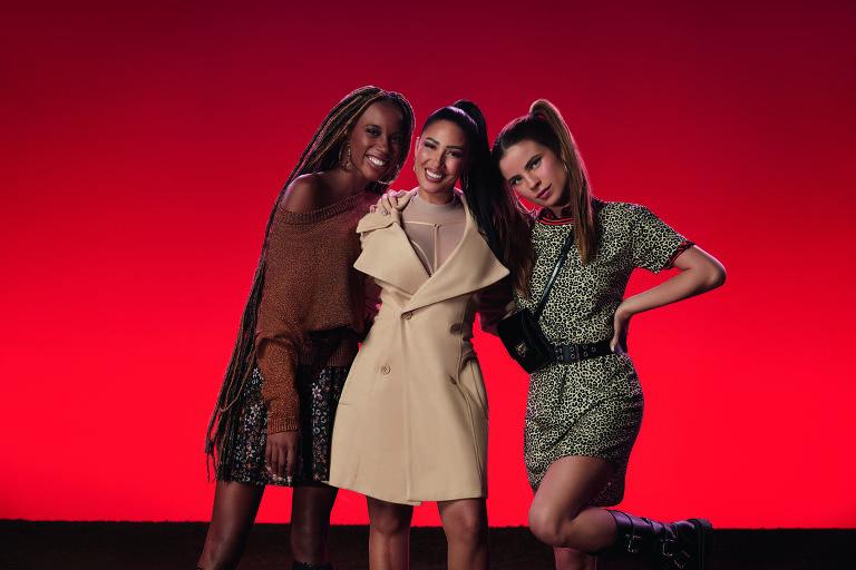 Giulia Be, Malia e Simaria em 'Te Sigo Somando'