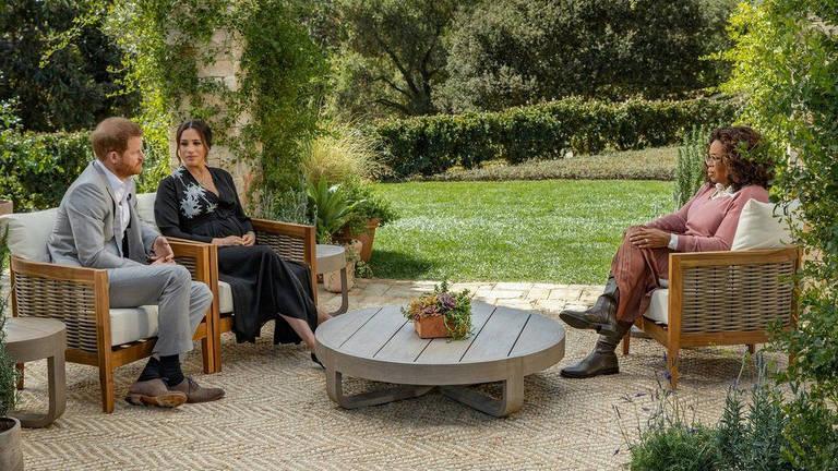 Príncipe Harry e Meghan Markle concederam uma entrevista à Oprah Winfrey