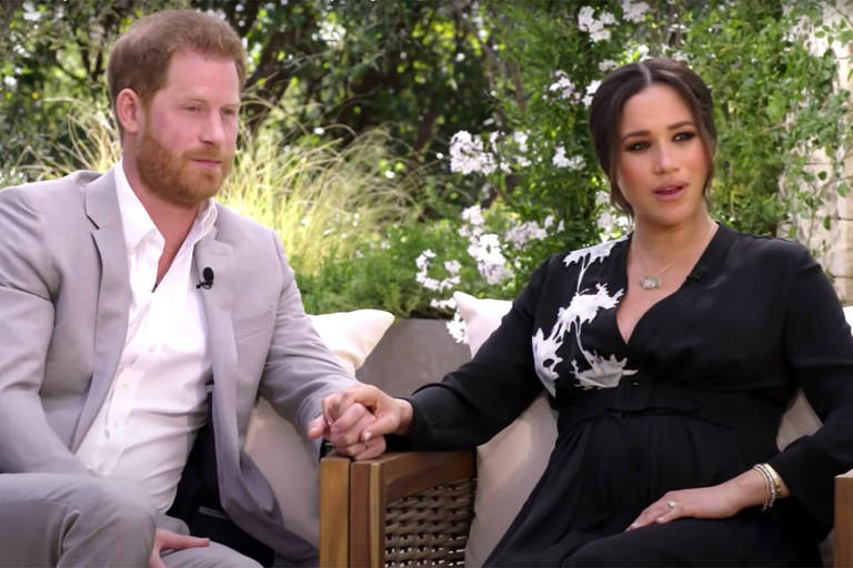 Príncipe Harry e Meghan Markle concedem entrevista Oprah