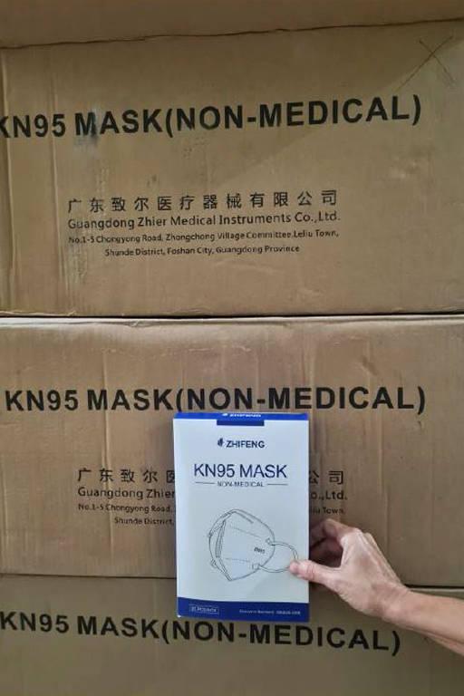 Saúde distribui máscaras impróprias a profissionais na linha de frente da Covid-19 e Anvisa vê riscos