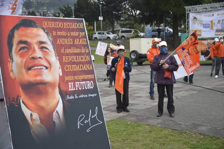 Com eleições, maquinaria do 'lawfare' é reativada no Equador