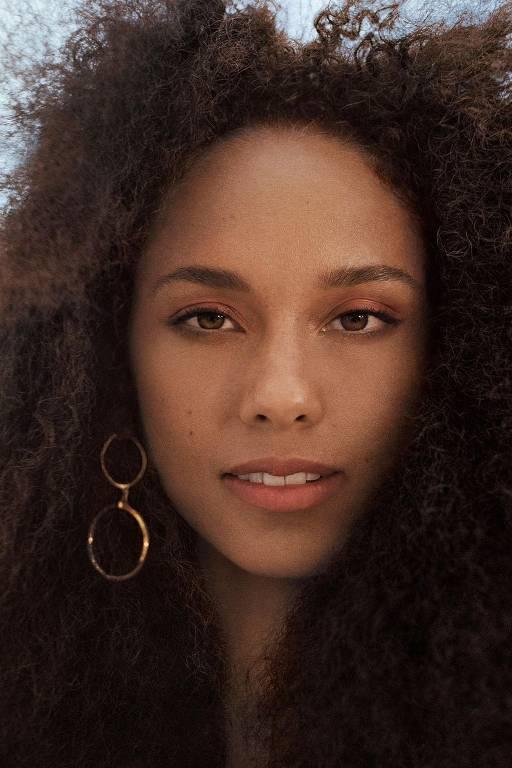 Imagens da cantora Alicia Keys