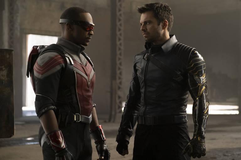 Super-heróis da Marvel voltam à TV com 'Falcão e o Soldado Invernal'