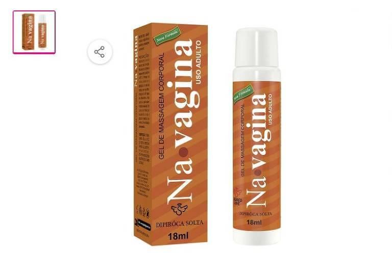 Gel de massagem Navagina