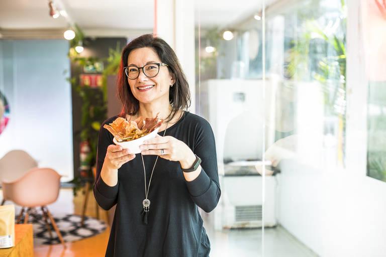 A empresária Juliana Bechara, dona da La Pet Cuisine