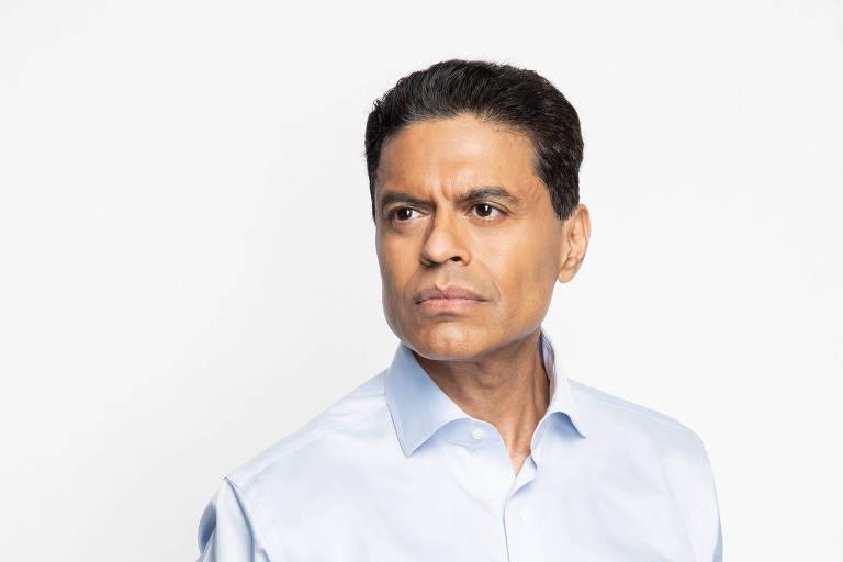O escritor e apresentador Fareed Zakaria