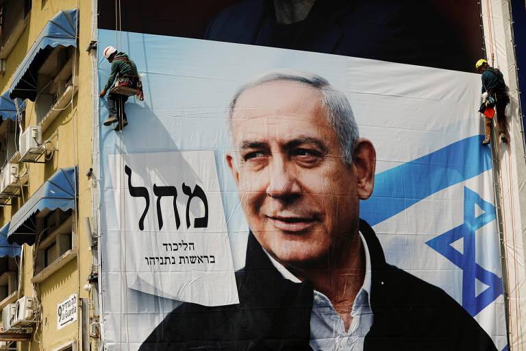 Netanyahu provoca racha na direita de Israel em 4ª eleição em 2 anos