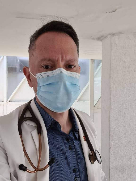 Gabriel Medeiros, médico de UTI do Hospital Municipal Santa Isabel, em João Pessoa