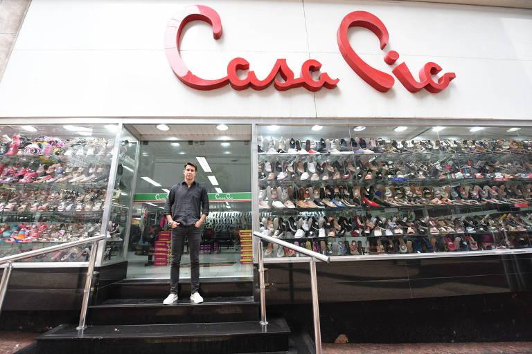 Clóvis Rolim Neto, vice-presidente da rede Casa Pio; com as restrições da pandemia, clientes não conseguem pagar o carnê da loja, que representa 50% da receita
