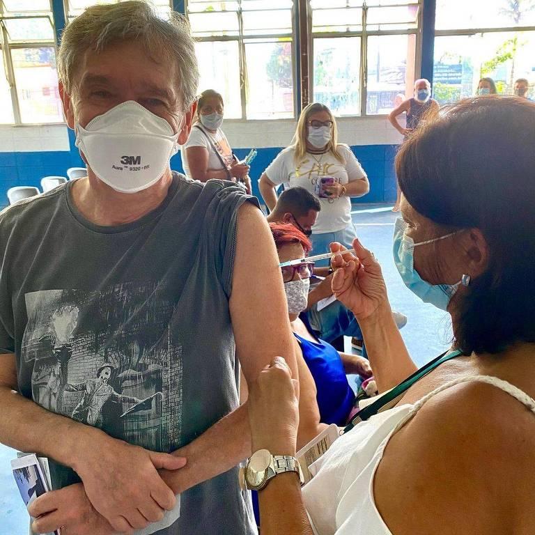 Serginho Groisman, vacinação