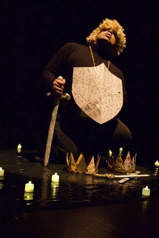 O ator Luis Lobianco, que estreia com 'Macbeth 2020'