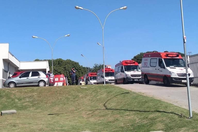 Pacientes são transferidos às pressas por problemas em oxigênio de UPA da zona leste de SP