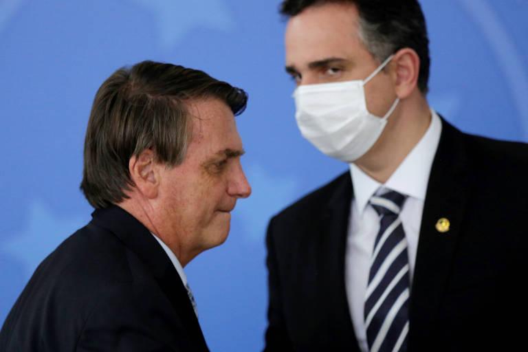 Sem citar Bolsonaro, Pacheco ataca 'minoria desordeira' e diz que negacionismo é brincadeira macabra