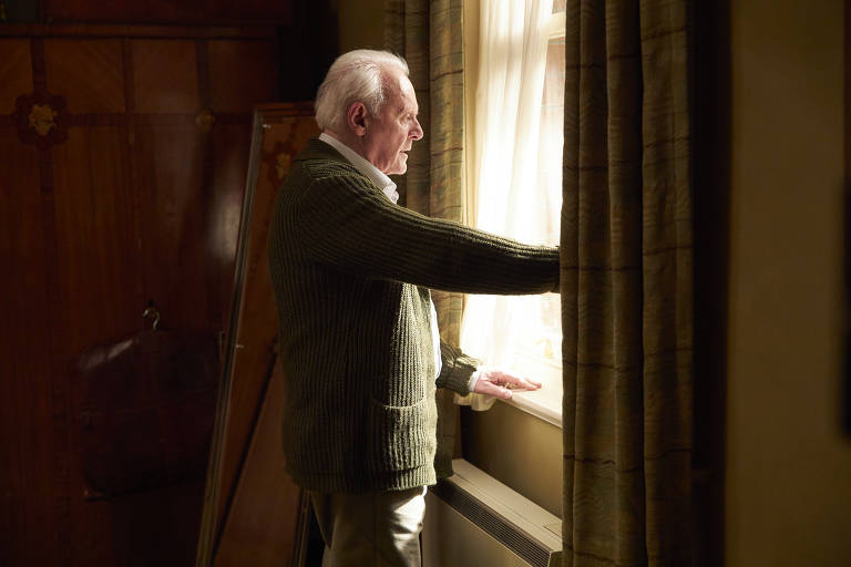 "Anthony Hopkins em cena do filme ""Meu Pai"", de Florian Zeller"