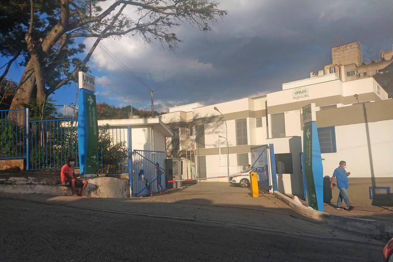 UPA Ermelino Matarazzo, na zona leste da capital paulista, onde morreram três pacientes de Covid-19 por falta de oxigênio