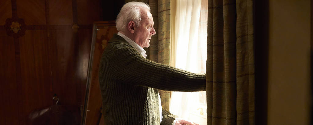 Anthony Hopkins em cena do filme 'Meu Pai', de Florian Zeller