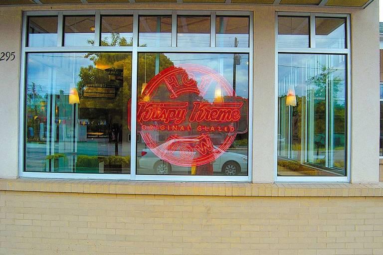 Krispy Kreme loja norte-americana de rosquinhas