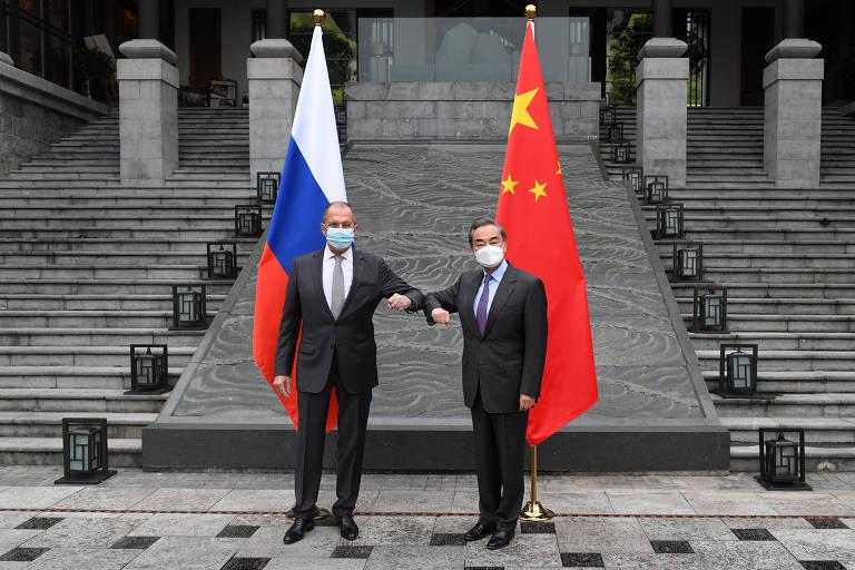 China e Rússia reagem a pressão de Biden e reforçam aliança contra os EUA