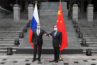 CHINA-GUANGXI-GUILIN-WANG YI-RUSIA-REUNION